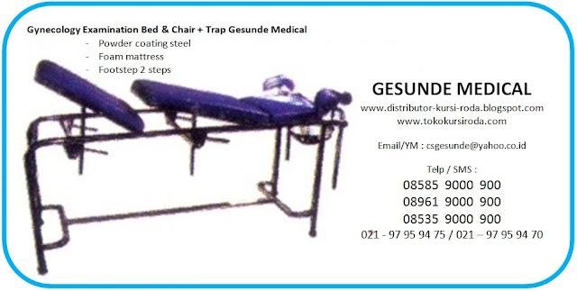Jual Ranjang Ginekologi Persalinan Gynecology Examination Bed Obgyn
