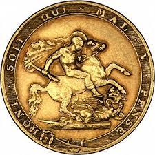 Η χρυσή Λίρα Αγγλίας και η Ιστορία της.