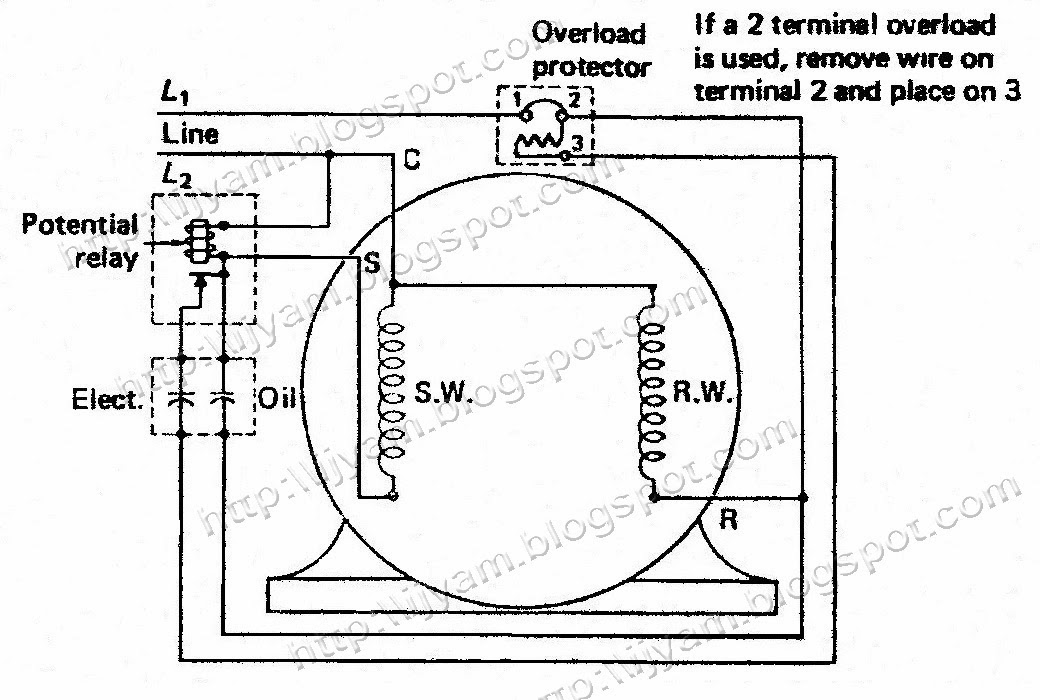 [DIAGRAM] Copeland Potential Relay Wiring Diagram Run