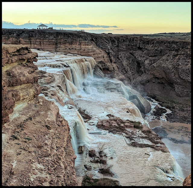 Grand Falls in the Navajo Nation