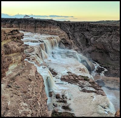 Grand Falls in the Navajo Nation