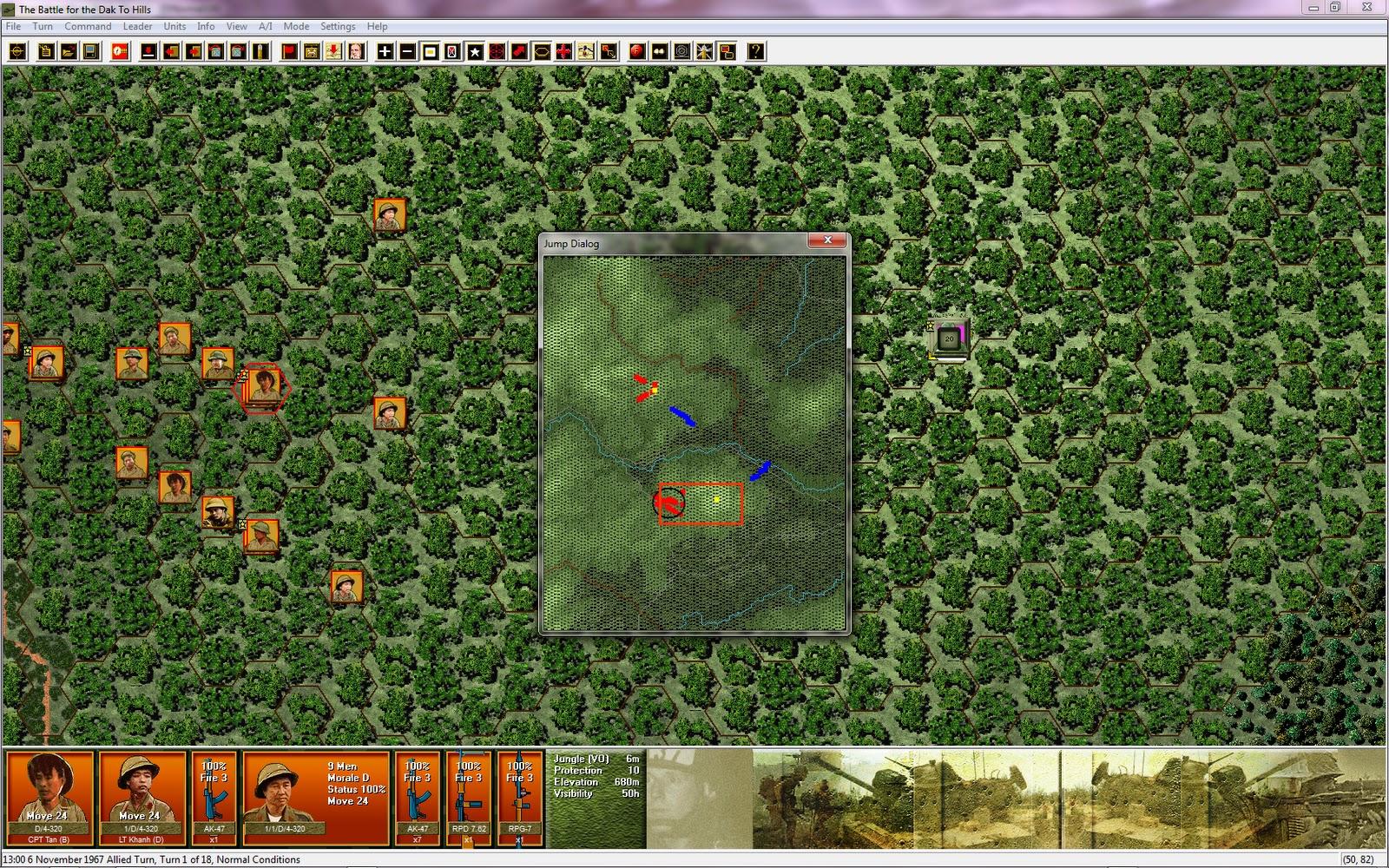 The Grognard Gamer: Squad Battles Vietnam Mod v2
