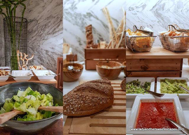 starters at Al Dawaar Revolving Restaurant