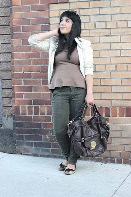 Camo Green and Brown Outfit