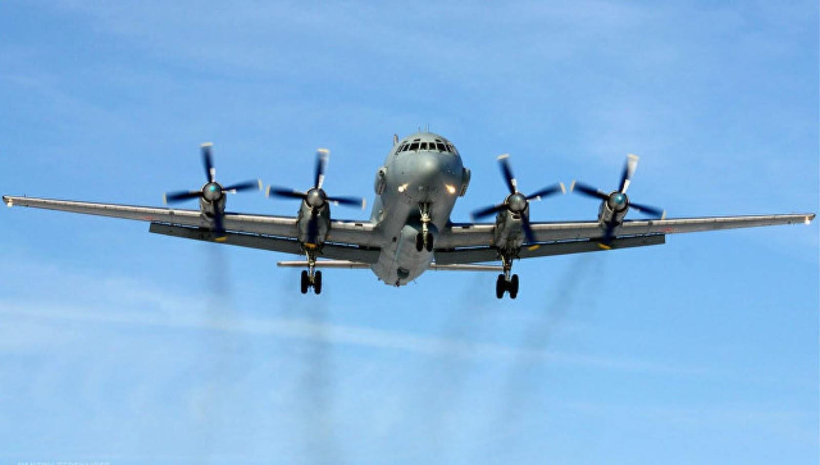 Empat pesawat pengintai Rusia nongol di utara Alaska