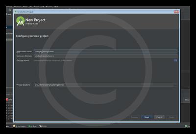 Android Studio - SlidingDrawer