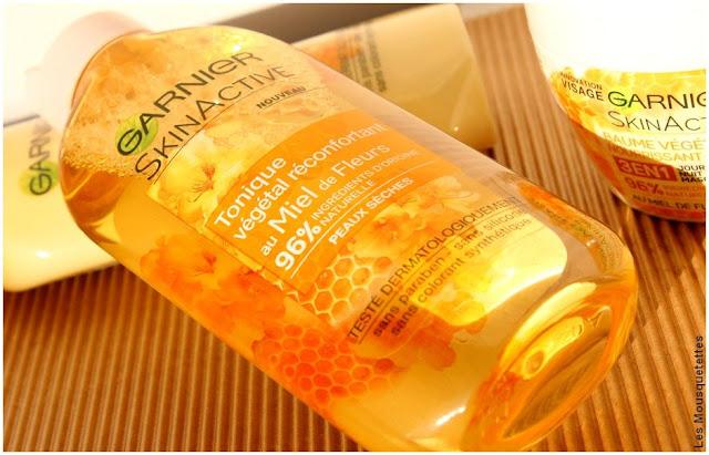 Miel de Fleurs, la gamme SkinActive de Garnier - Tonique végétal - Blog beauté