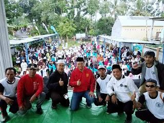 Gubernur Disorot, Hadir Di Acara HUT Desa Mamben Bersama Caleg PKS