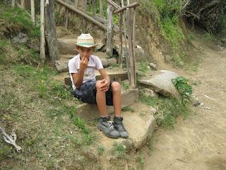 Cerro Galano, poblado Cameyán, Punto Fijo, niño campesino