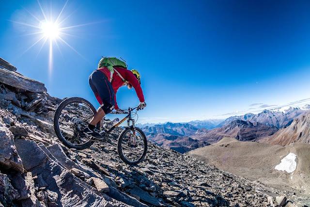 Tourenguide Westalpen mit dem Mountainbike