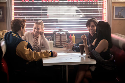 Cole Sprouse, Lili Reinhart, Camila Mendes and K.J. Apa in  Riverdale (10)