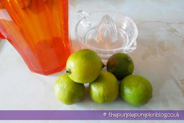 Fresh Limeade at The Purple Pumpkin Blog