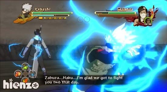 Kakashi vs Zabuza