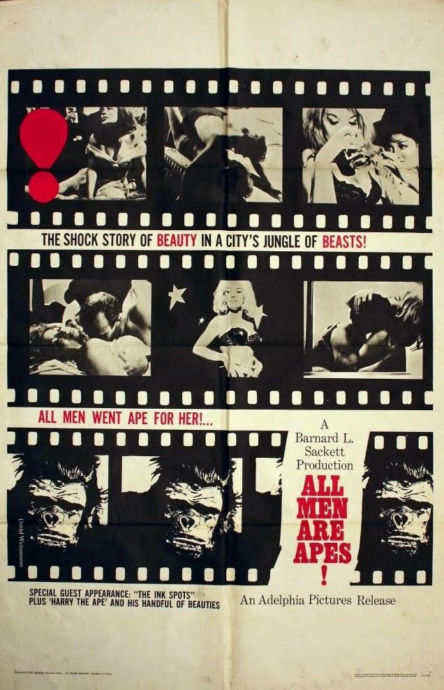All Men Are Apes, 1965   BlueisKewl