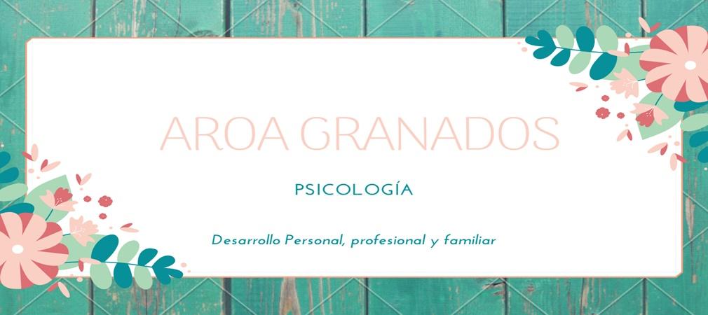 Aroa Granados Psicóloga