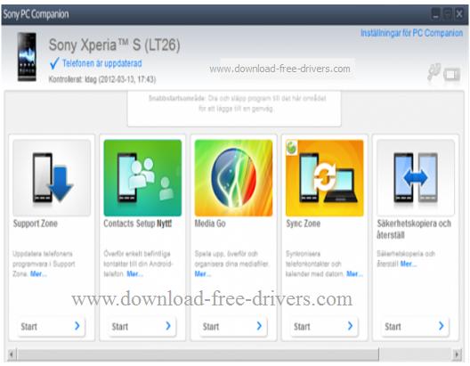 sony xperia companion download for windows 7