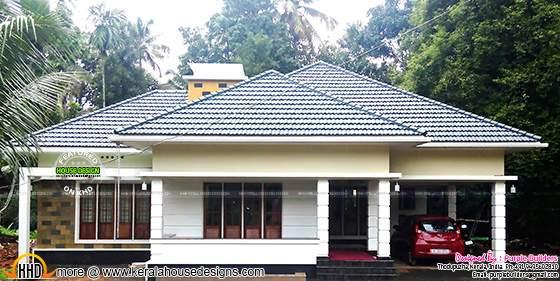 House construction, Thodupuzha, Kerala