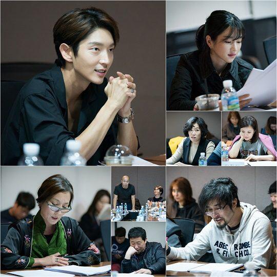 tvN新週末劇《無法律師》公開劇本練習照 李準基回次回歸tvN演出律師角色