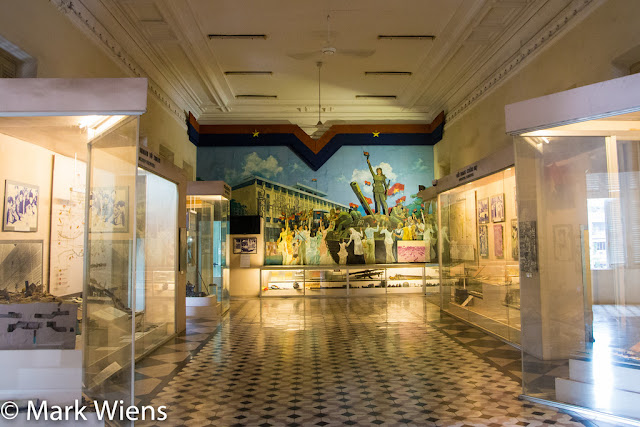 INSIDE THE MUSEUM OF HO CHI MINH CITY