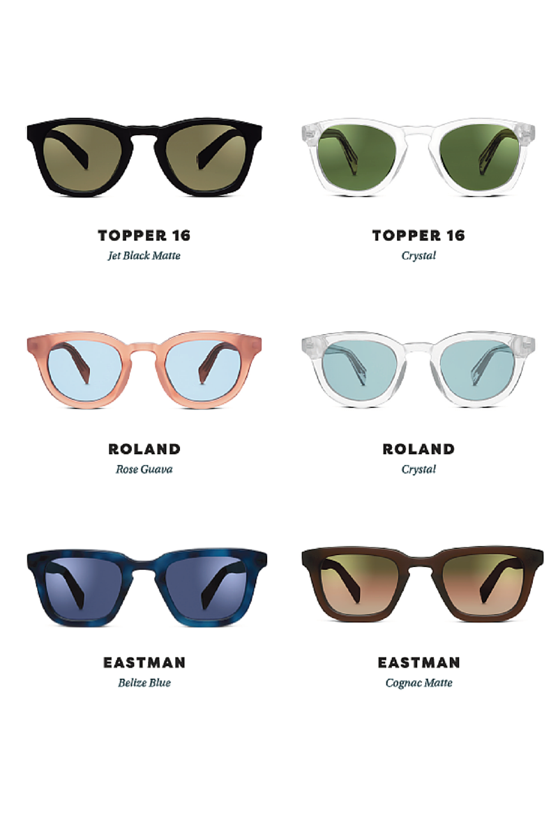 Warby Parker new sunglasses collection1