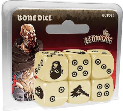 Zombicide Black Plague -Bone Dice