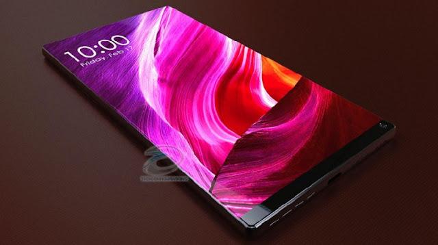 Ponsel masa depan Xiaomi Mi Mix 2