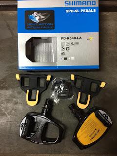 Pedal Cleat Roadbike Shimano R540LA