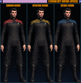 Captain's Log: Star Trek Online: STARFLEET UNIFORMS