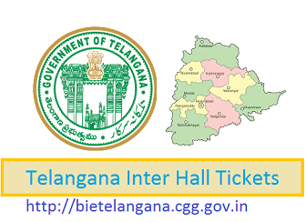 BIE Telangana Jr Inter Hall Ticket 2019