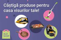Castiga vouchere in valoare de 600 RON pentru achizitionarea de produse de pe aloshop.tv - concurs - castiga.net