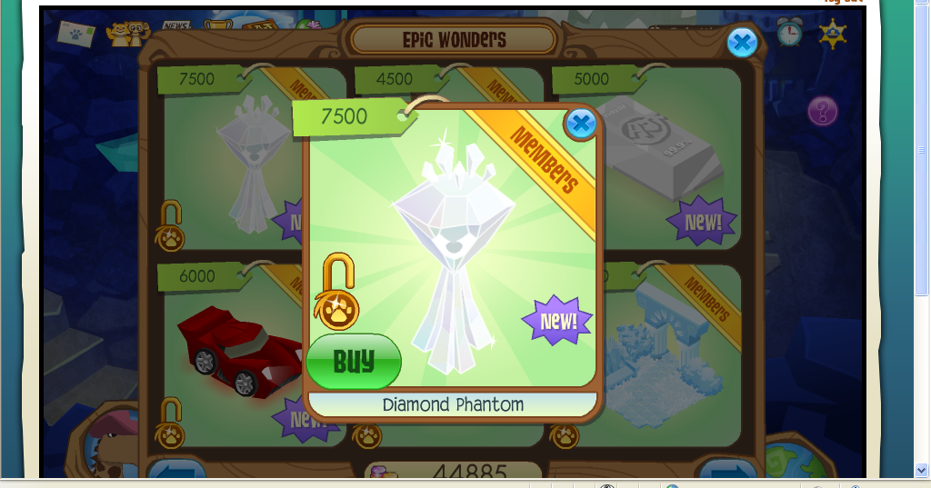 desk and chair animal jam luraco pedicure tides: diamond phantom