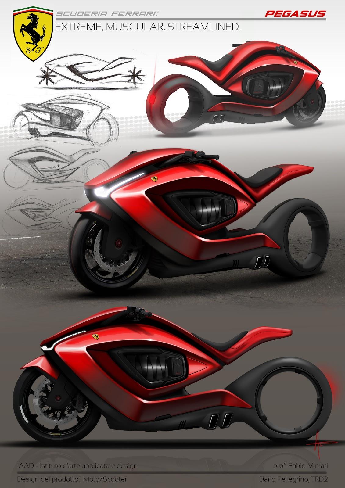 Ferrari Motorcycle 201...