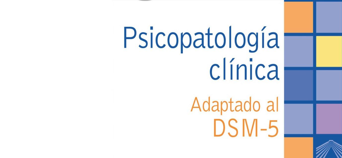 Psicopatología Clínica, adaptada del DSM 5. PDF