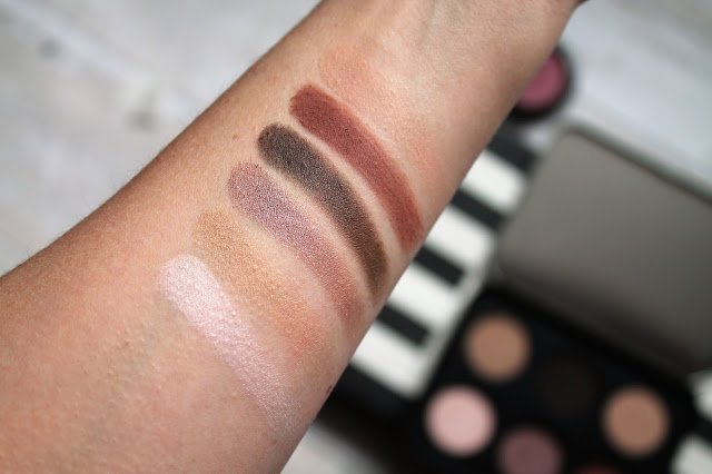 Make Up For Ever Artist Shadow Nude Palette Swatches