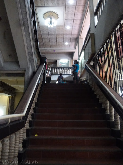 Stairs of San Roque de Manila Church