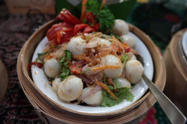Ramadhan Buffet Dinner at Swiss-Garden Hotel and Residences Kuala Lumpur, kerabu telur puyuh,