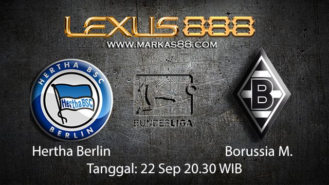 Prediksi Bola Jitu Hertha Berlin vs Borussia Monchengladbach 22 September 2018 ( German Bundesliga )