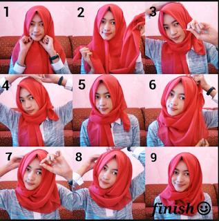 Cobain Yuk 15 Contoh Tutorial Hijab Katun Rawis