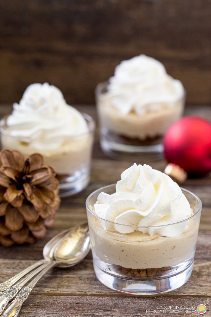 No-Bake Gingerbread Cheesecake | Cooking on the Front Burner