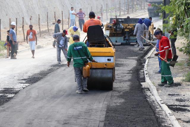Obra de ponte em Paulista entra na reta final