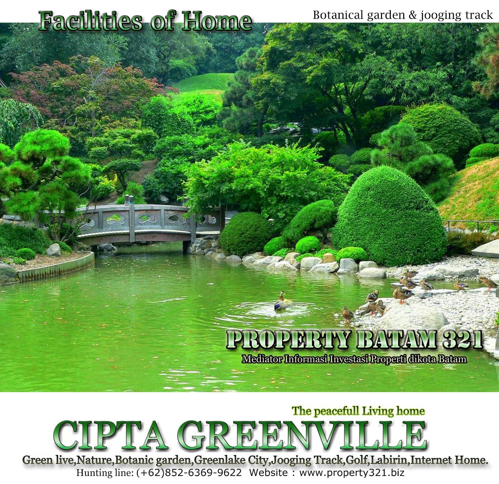 Botanic Garden Cipta Greenville Batam.