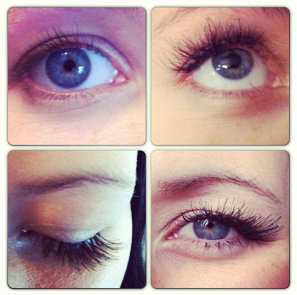 DIY Eyelash Extensions featured by top US lifestyle blogger, Kara Metta