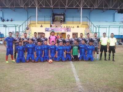 Turnamen Kapolres Labuhanbatu Cup Tahun 2018 Kesebelasan RAP A Hantam Legend  Sigma Skor 2-0