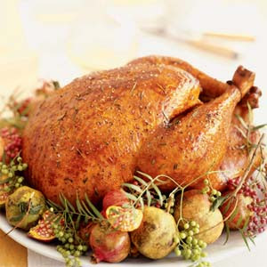 Thanksgiving Dinner Recipes – Lemon Roast Turkey