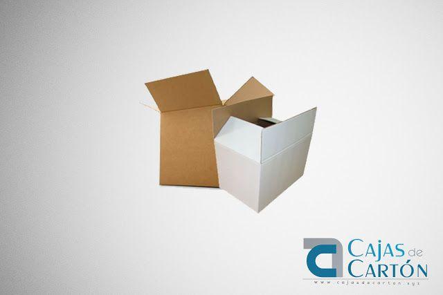 Cajas de Cartón Blancas y Kraft