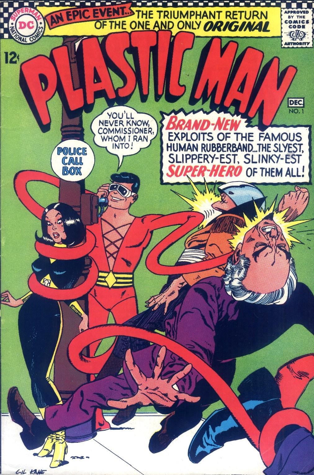 Silver Age Comics Plastic Man 1