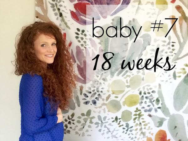 baby #7: 18 weeks and we're having a...
