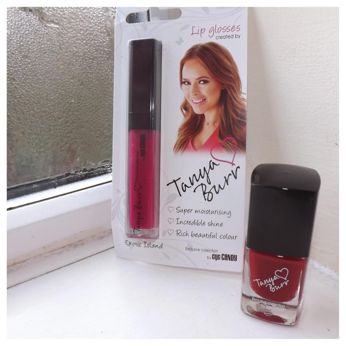 Tanya Burr Lips and Nails