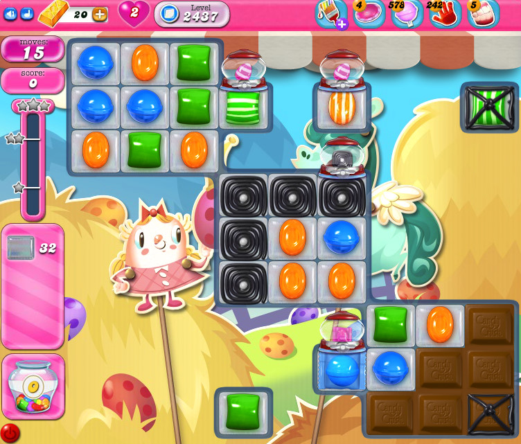 Candy Crush Saga level 2437
