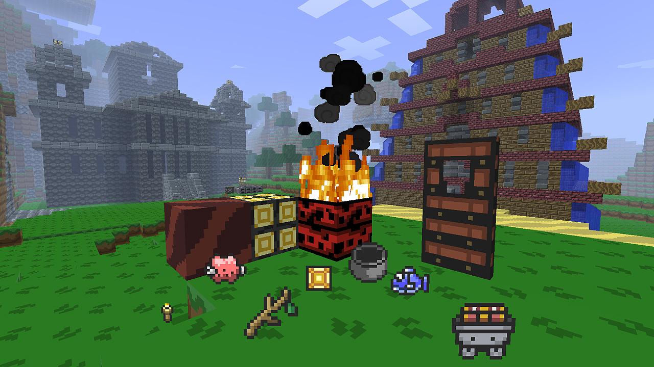 Minecraft HD Texture Pack: Captured